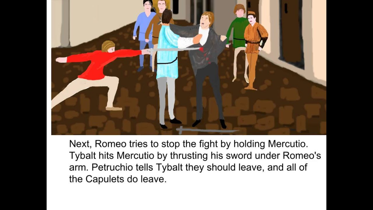 romeo and juliet act 3 scene 1 summary