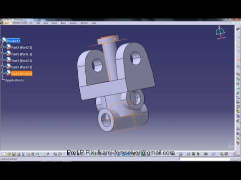 Assembly and animation of universal coupling -SKN SINHGAD COLLEGE OF ENGINEERING