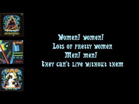 Def Leppard  Women  Lyrics  HQ Audio