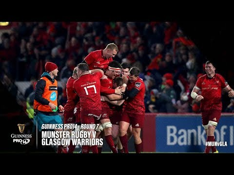 Guinness PRO14 Round 7 Highlights: Munster v Glasgow Warriors
