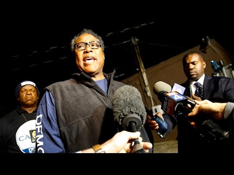 Dwaine Caraway concedes defeat and congratulates Dallas County Commissioner John Wiley Price