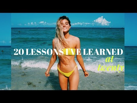 20 LESSONS I'VE LEARNED AT 20   @LilyLeeTracy
