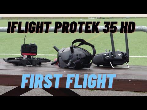 Фото IFlight ProTek35 HD with Insta 360 One R 4K - my first FPV drone flight