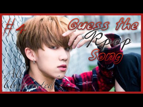 #4 Guess The Kpop Song- (All ver.) [Underrated Edition]