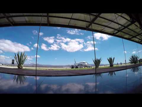 Aeropuerto de La Paz, BCS, Mexico / LAP MMLP Sala de abordar Interjet Sukhoi Volaris A320