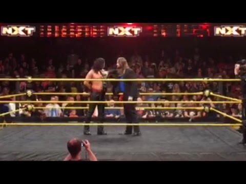 Kassius Ohno makes a huge return to WWE NXT: Exclusive, Jan. 5, 2017