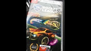 Rocket League Collector's Edition Nintendo Switch Unboxing