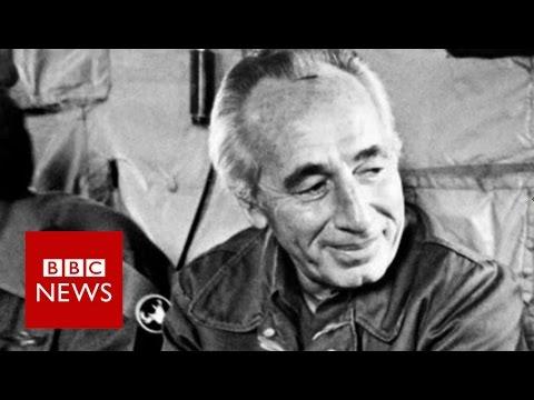 Shimon Peres: An emigre who became a world statesman - BBC News