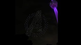 Avengers Drones Light Show @KL, Malaysia