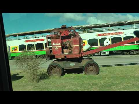 full ride on the St. Kitts Scenic Railway on St. Kitts in the West Indies (1 of 5)