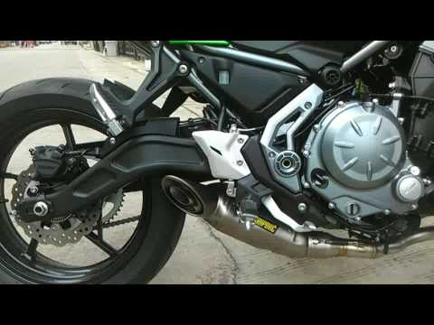 Akrapovic Z650 2017 Titanium Open With DB Killer By TPpowersport Group