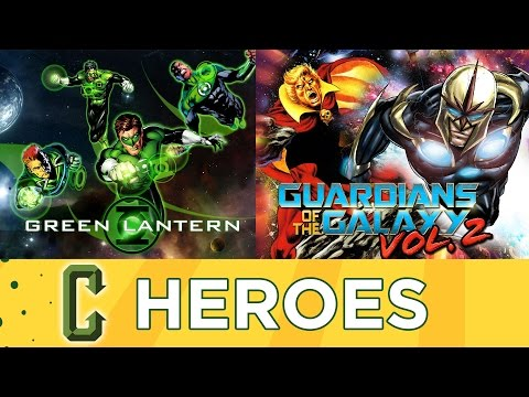 Is Goyer Directing Green Lantern Corps? GOTG Vol. 2 Mystery Characters - Collider Heroes