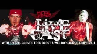 LIMP BIZKIT's Fred Durst & Wes Borland Awkward Interview on the Metal Injection Livecast
