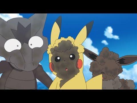 Fun In The Sun With Little Eevee! | Pokémon The Series: Sun & Moon—Ultra Legends | Short