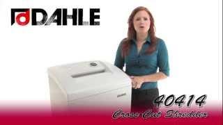 Dahle 40414 Professional Cross-Cut Shredder