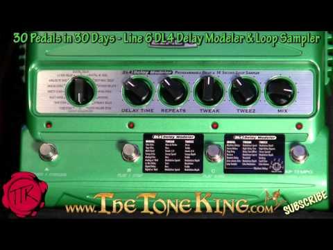 Line 6 DL4 Delay Modeler & Loop Sampler Pedal -30 Pedals in 30 Days- Winter NAMM 2011 '11 Line6 DL-4