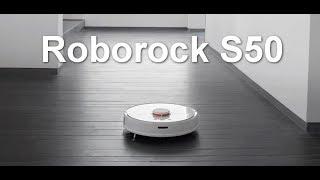 РОБОТ ПЫЛЕСОС Roborock S50 M  ROBOT 2 ОБЗОР