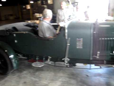 The Vintage Bentleys arrive at the warehouse from the Port of Baltimore for the USA Fall Tour