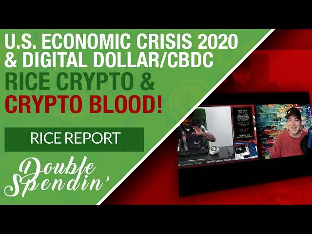 Crypto Blood on the Rice Report Talking CBDCs and The Threat of Digital Dollars Towards Cryptos