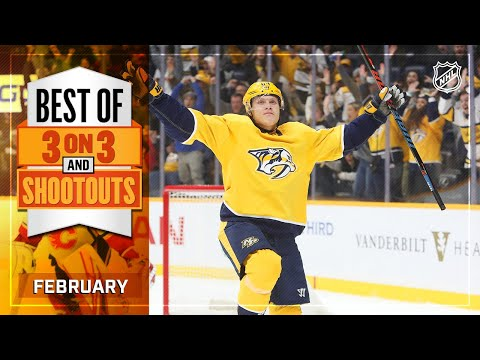 Best 3on3 Overtime and Shootout Moments from February | NHL