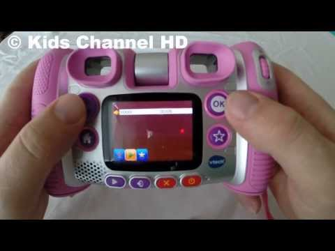 Vtech Kidizoom Twist Plus, How to use, Toys Review - Kids Channel HD