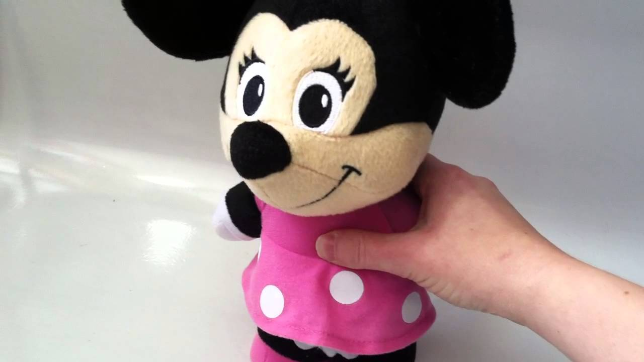 Fisher Price Talking Minnie Mouse Plush Stuffed Animal Doll Disney