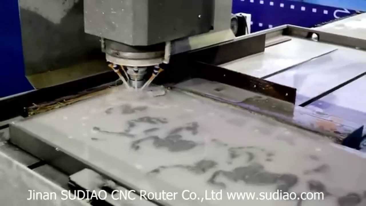 Stone marble granite relief deep engraving carving