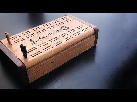 How to Build a Cribbage Board DIY Woodworking