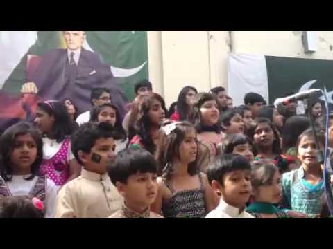 National song at high commission for pakistan london by Malaika, mahnoor gul and other