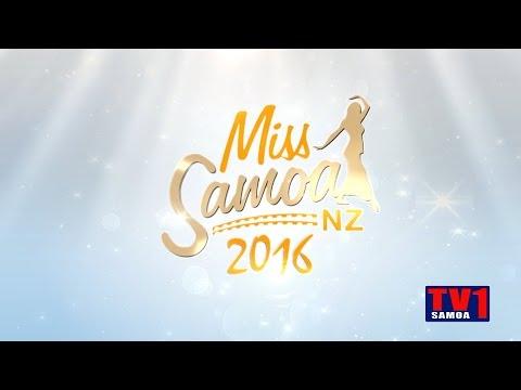 Miss Samoa NZ 2016 Highlights