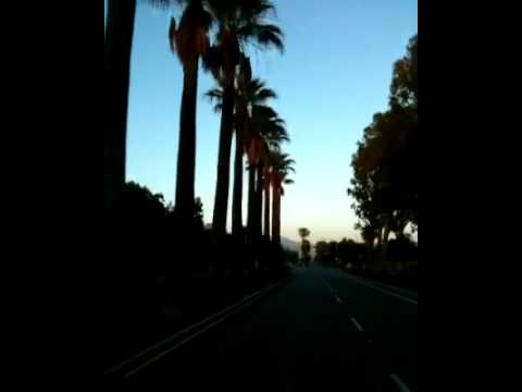Driving down da road