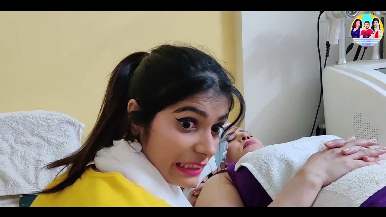 Types Of Women At A Beauty Parlour {PART 2} (Reality of every salon) | Amar Cine Production