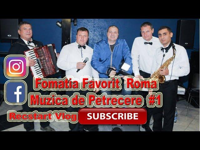 Formatia Favorit Roma   Colaj Muzica Populara #1