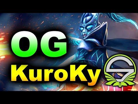 OG + KuroKy vs Singularity - WePlay! Tug of War: Radiant DOTA 2