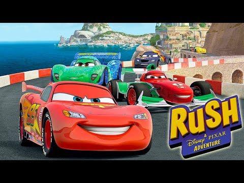 CARS Voiture Jeux Vidéo de Dessin Animé en Français - Rush Une Aventure Disney Pixar