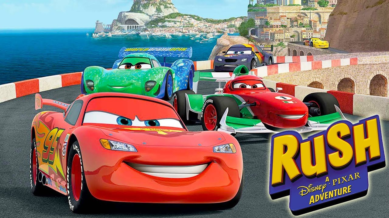cars voiture jeux vid o de dessin anim en fran ais rush une aventure disney pixar youtube. Black Bedroom Furniture Sets. Home Design Ideas