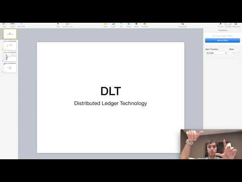Que es una DLT? - Distributed Ledger Technology