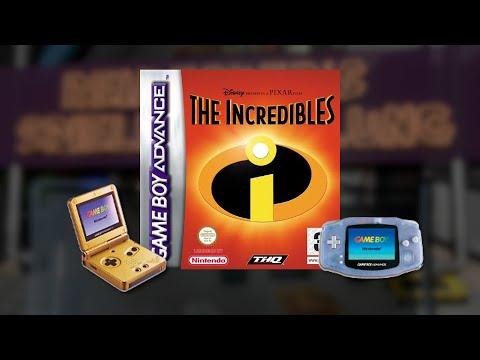 Gameplay : Die Unglaublichen / The Incredibles [Gameboy Advance]