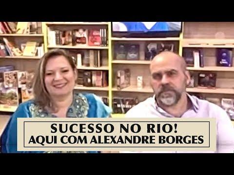 SUCESSO NO RIO! AQUI COM ALEXANDRE BORGES