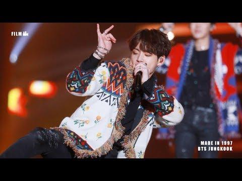 181225 SBS 가요대전 - BTS 타이틀곡 TITLE SONG MEDLEY (BTS JUNGKOOK FOCUS) 방탄소년단 정국