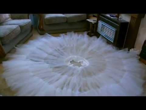 Belle\'s Ballgown Petticoat Tutorial - YouTube