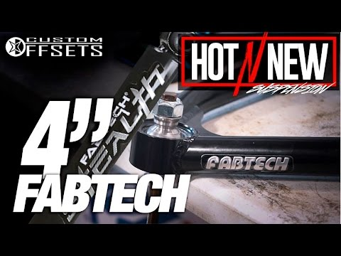 Hot n New Suspension Series Ep  3: Fabtech 4