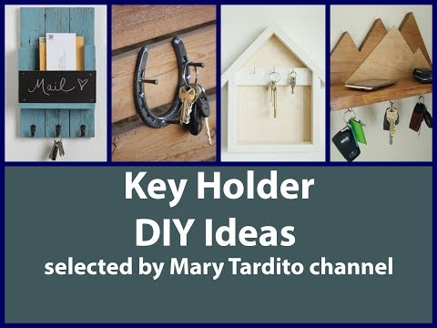 DIY Key Holder Ideas - Crafts Ideas to Make and Sell - DIY Home Decor Ideas
