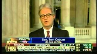 Dr. Coburn on Fox Business's Cavuto Regarding Department of Homeland Security Grant Report