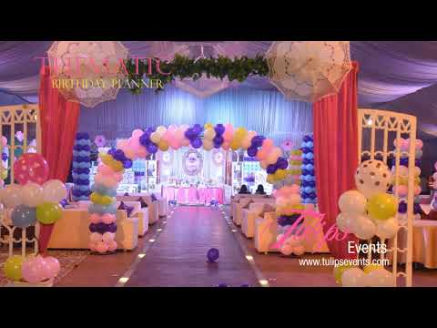 Fairy Princess Theme Party Decor Planner in Lahore Pakistan