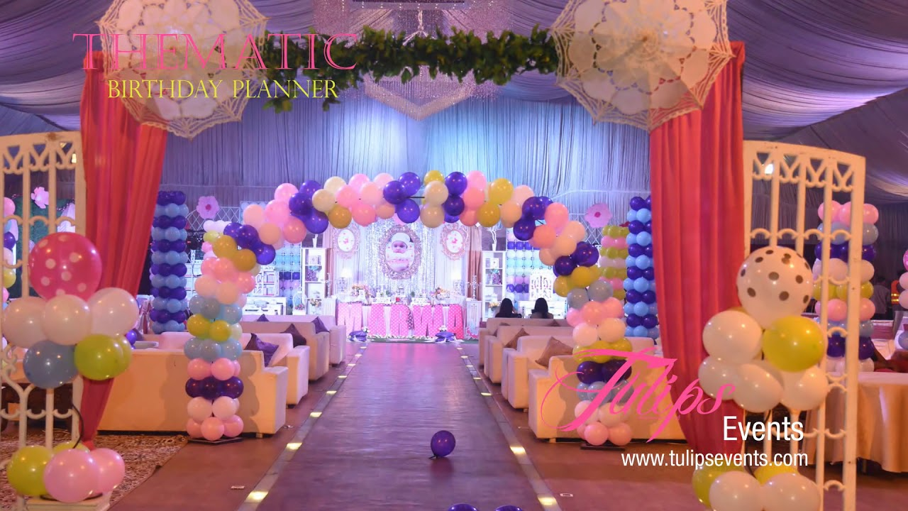 Fairy Princess Theme Party Decor Planner in Lahore Pakistan YouTube