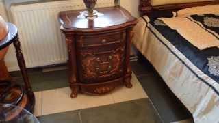 Прикроватная тумбочка Джорджия с коллекции классической китайской мебели Джорджия(http://izymryd.com.ua ..., 2013-11-11T20:13:27.000Z)