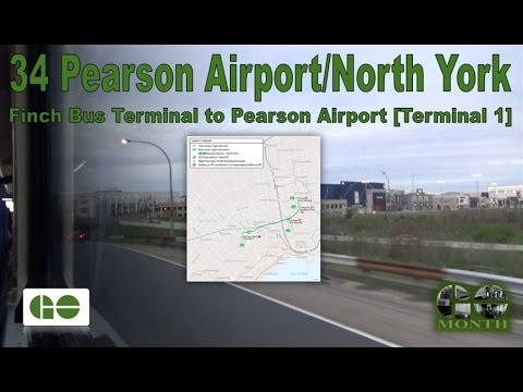 34 Pearson Airport/North York - GO Transit 2007 MCI D4500CT 2337 (Finch Terminal to Pearson Airport)