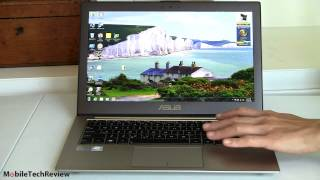 видео Ультрабук ASUS ZENBOOK Prime UX32VD