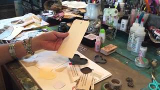 Creating Miniature Art Collages for metal bezels and ICE Resin